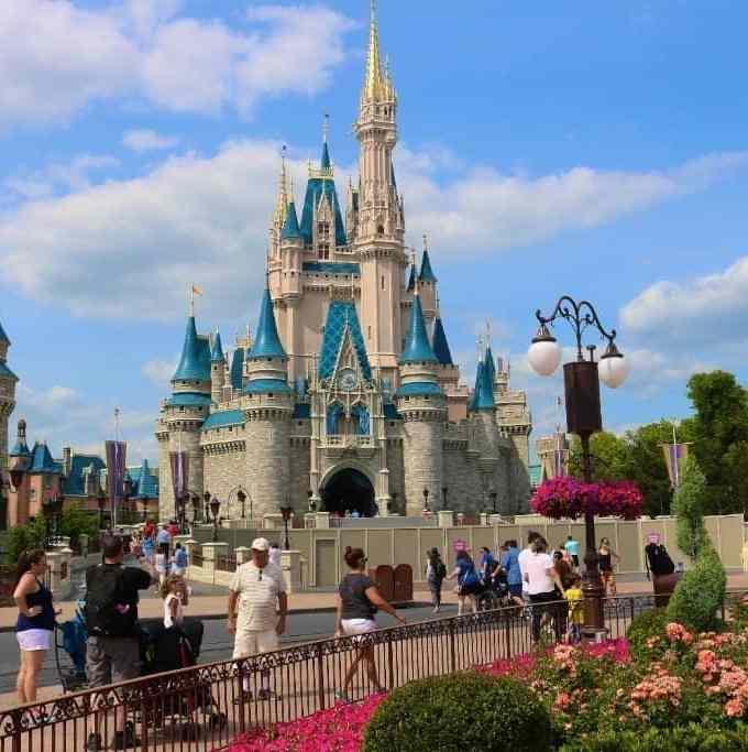 Cinderella's castle at Walt Disney World