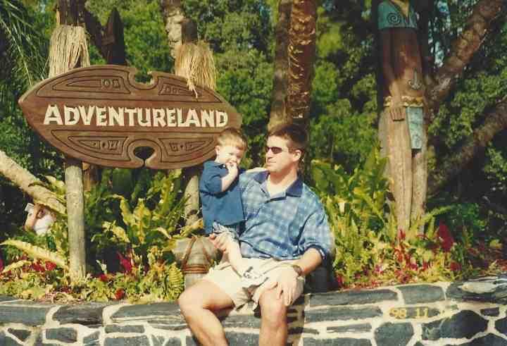 Craig and Ian in Adventureland