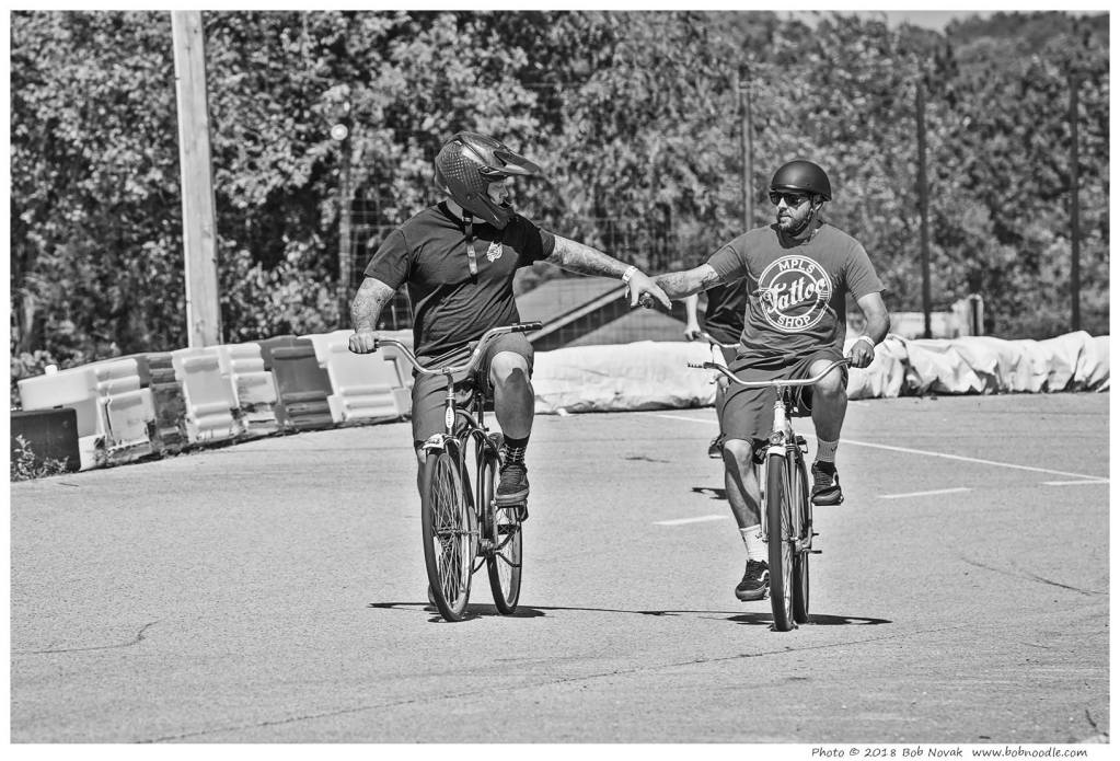 Vintage Bicycle Relay Race
