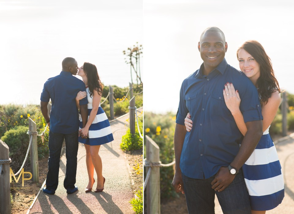 Sunset engagement session at Point Loma, San Diego, California