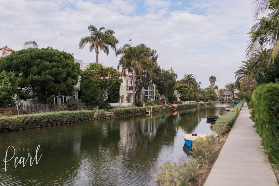 Venice Beach Canals sunshine