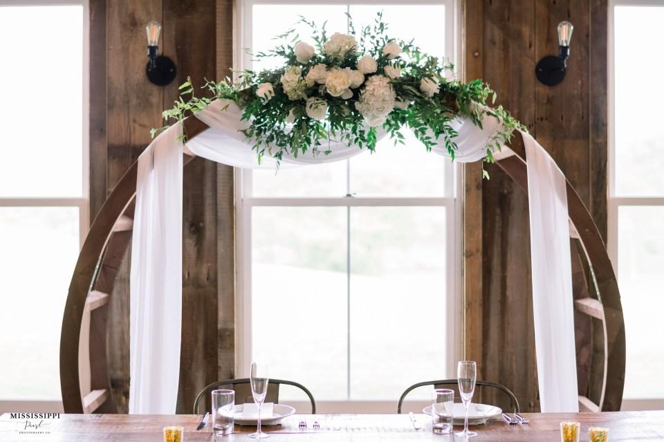 Borrow My Vintage wedding arch