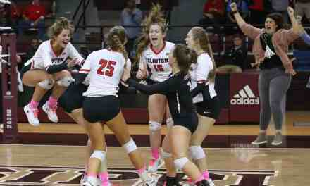 At only 25, Brown guides young Clinton team to state volleyball championship – By Robert Wilson