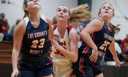 MRA vs TRI-COUNTY GIRLS BASKETBALL by ROBERT SMITH