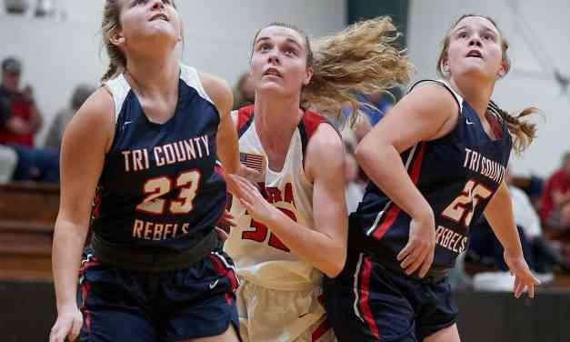 MRA vs TRI-COUNTY GIRLS BASKETBALL by ROBERT SMITH