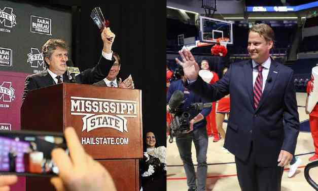 Ole Miss' Kiffin, State's Leach throw fans an egg-shaped curveball – By Billy Watkins