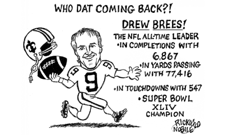 Who Dat Coming Back – By Ricky Nobile