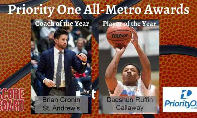 PRIORITY ONE ALL-METRO BOYS BASKETBALL AWARDS