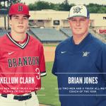 Pearl's Jones, Brandon's Clark earn Metro Jackson baseball Coach, Player of the Year honors