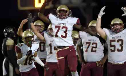 Hartfield brings home victory over Canton Academy 38-0