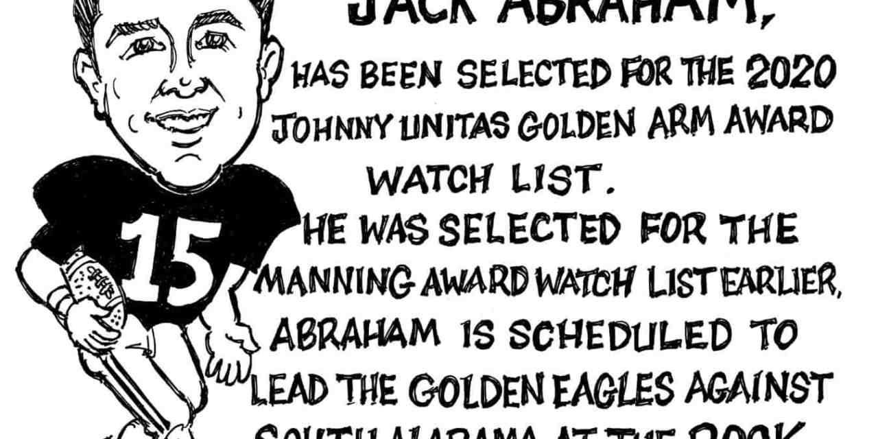 Jack Abraham Cartoon by Ricky Nobile