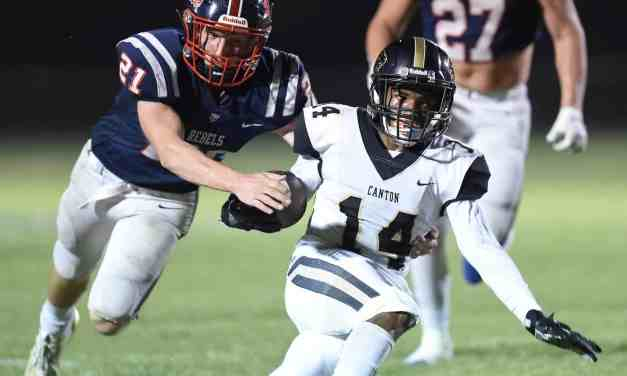 Canton Academy defeats Tri County Academy 20-15 – Photos by Chris Todd
