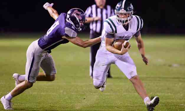 Park Place travels to East Rankin Academy tonight and the Crusaders come away with a 33-22 win over the Patriots in Pelahatchie – Photos by Robert Smith
