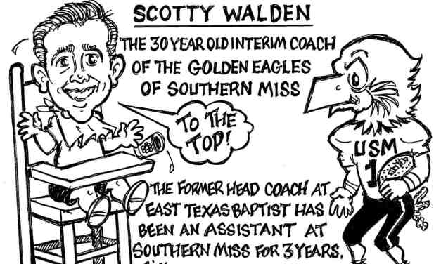 Youngest Coach in America – Cartoon by Ricky Nobile