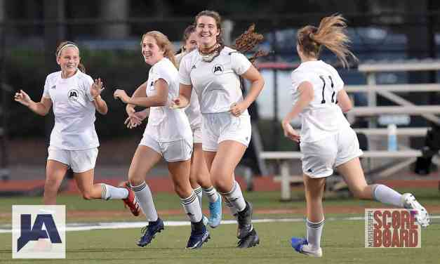 JA OUTLASTS MRA 2-1 IN GIRLS SOCCER SEMIFINALS – By Robert Wilson