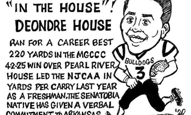 Deandre House Record Day – Cartoon by Ricky Nobile