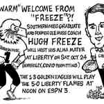 Freeze Returns To Mississippi – Cartoon by Ricky Nobile