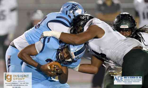FOUR-TIME DEFENDING STATE CHAMPION WEST POINT RALLIES, DEFEATS RIDGELAND 29-22 IN 5A SEMIFINALS
