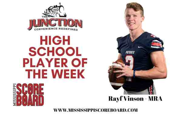 Junction Deli High School Player of the Week – 11-25