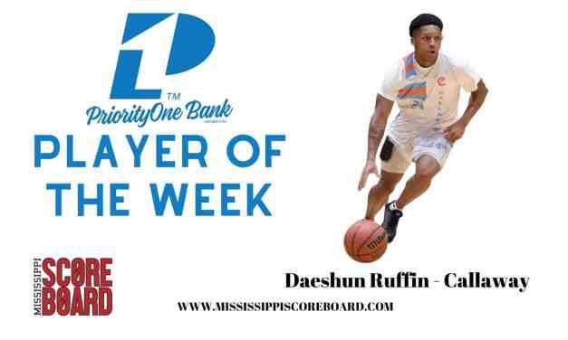 PriorityOne Bank Boys Player of the Week 12-29