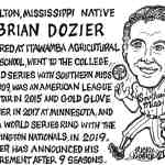 Brian Dozier Cartoon – By Ricky Nobile