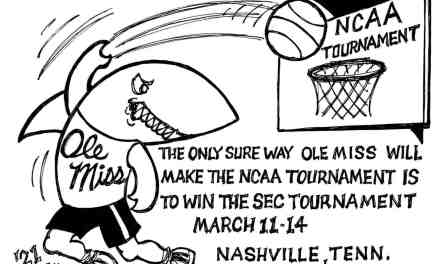 Ole Miss – A Long Shot Cartoon – By Ricky Nobile