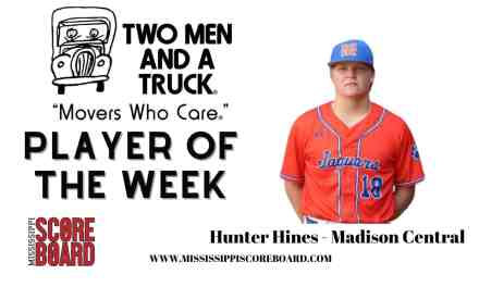 Two Men and a Truck Baseball Player of the Week – 3-17