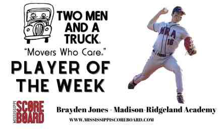 Two Men and a Truck Baseball Player of the Week – 4-7
