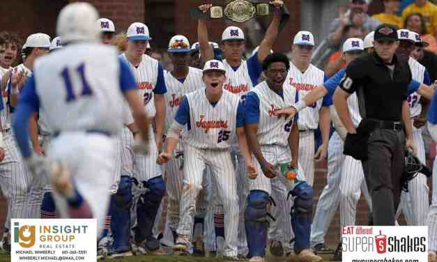 BRADEN MONTGOMERY CARRIES MADISON CENTRAL TO GAME 1 VICTORY OVER TUPELO IN MHSAA CLASS 6A BASEBALL SEMIFINALS – By Robert Wilson