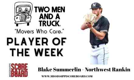 Two Men and a Truck Baseball Player of the Week – 5-12