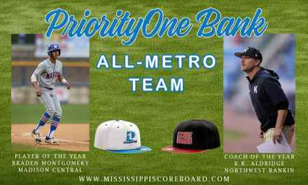 PriorityOne Bank/Mississippi Scoreboard All Metro Jackson Baseball Team – By Robert Wilson