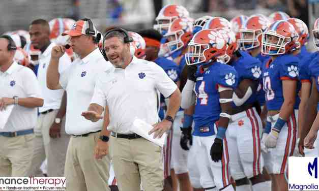 MADISON CENTRAL DEFEATS WEST JONES 27-21, VIC SUTTON THROWS THREE TOUCHDOWN PASSES (and Photo Gallery) – By Robert Wilson