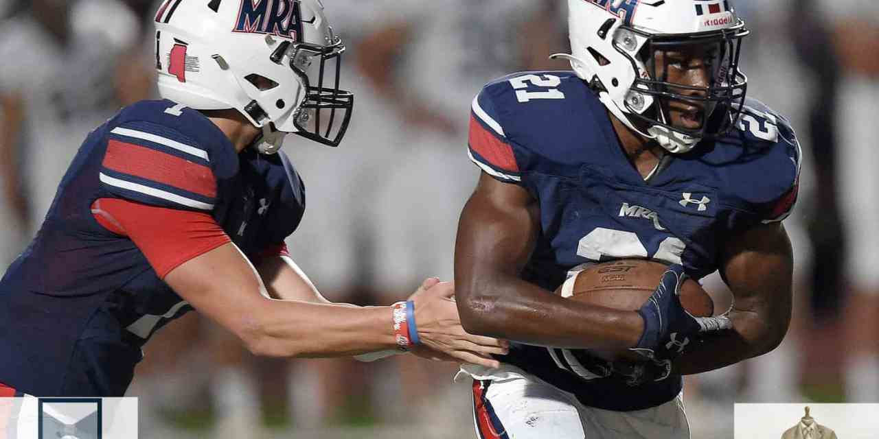 MRA DEFEATS JA 35-7, BENEFITS FROM PLAYING MOST DIFFICULT EARLY SEASON IN MISSISSIPPI