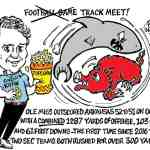 Ole Miss vs Arkansas Cartoon – By Ricky Nobile