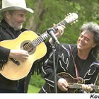 Merle Haggard, left, and Marty Stuart in Oxford in 2003.