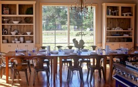 The Farmer's Table Cooking School in Livingston offers cooking classes as well as rehearsal dinner options.