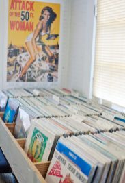 The Little Big Store has a huge selection of vinyl available to customers.