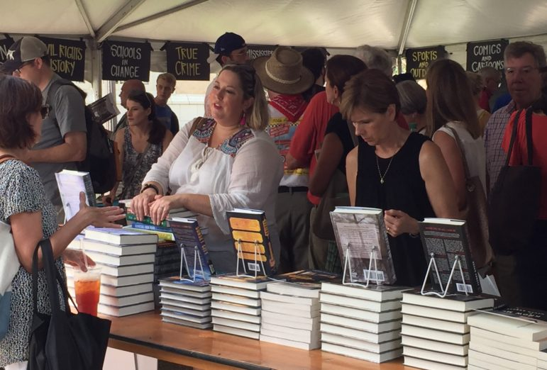 Hear the author; buy the book. The Mississippi Book Festival makes the connection with fans.