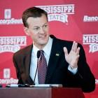 Scott Stricklin, Mississippi State University athletic director.