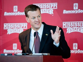 Scott Stricklin, Mississippi State University athletic director.