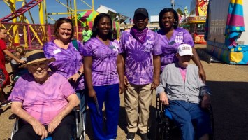 For the first time, Beau Ridge Independent Living & Memory Care Assisted Living gave a few of their patients the chance to relive some childhood memories at the fair.