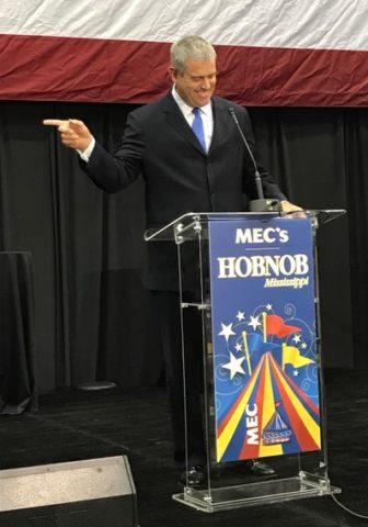 Speaker of the House Philip Gunn criticized the state's formula for funding education at Hobnob.
