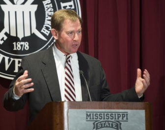 John Cohen was introduced Friday as Mississippi State University's new athletic director.