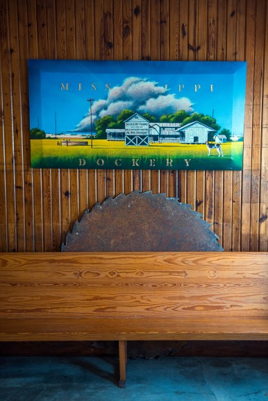 The Dockery Farms barn