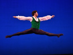 Gian Carlo Perez of Cuba in Round I of the 2014 USA IBC. He now dances with the Washington Ballet.
