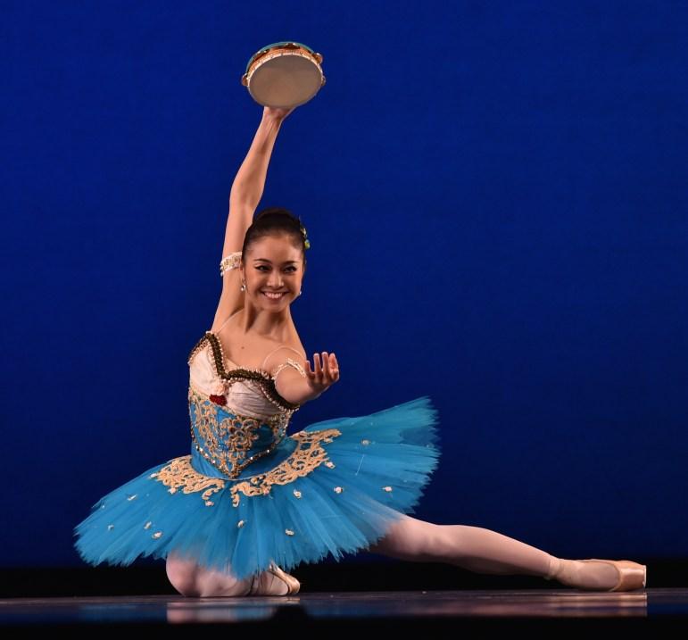 IBC dancer performing