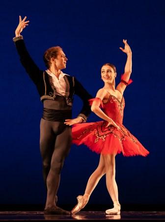 man and woman ballet dancers at IBC