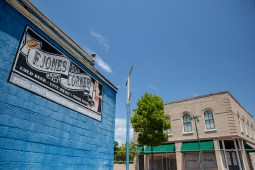 F. Jones Corner is photographed in the 300 block of Farish Street in Jackson Friday, June 29, 2018.