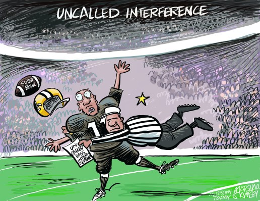 Marshall Ramsey Uncalled Interference