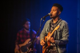 Brotha Josh and the Quickness perform in the Jackson Indie Music Week at Duling Hall Thursday, January 17, 2019.